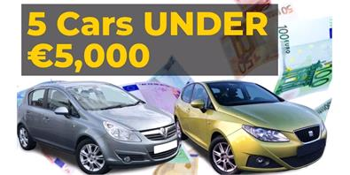 The Best Second Hand Cars for Under 5,000