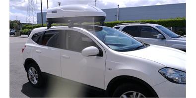 Nissan Qashqai Roof Bars and Box