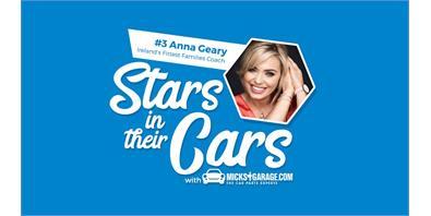 MicksGarage Stars and their cars: Anna Geary