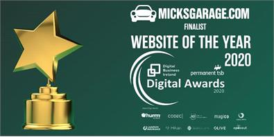MicksGarage.com Website Of The Year 2020 Finalist