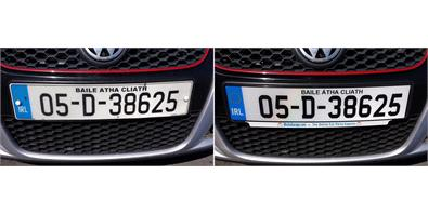 Service Academy: How To Fit Number Plates