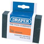 Sanding, Filing and Finishing, Draper 10106 Fine - Medium Grit Flexible Sanding Sponge, Draper