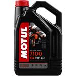 Engine Oils and Lubricants, MOTUL Motorbike Engine Oil 7100 5W-40 4T - 4 Litre, MOTUL