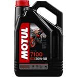Engine Oils and Lubricants, MOTUL Motorbike Engine Oil 7100 20W-50 4T - 4 Litre, MOTUL