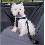 Dog and Pet Travel Accessories, Dog Car Seat Belt and Harness - Small Dogs (30-60cm), Trixie