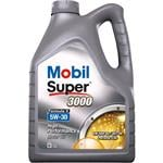 Engine Oils and Lubricants, Mobil Super 3000 Formula V - 5W-30 - 5 Litre, MOBIL