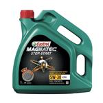 Engine Oils and Lubricants, Castrol Magnatec 5W30 A3-B4 Stop-Start Fully Synthetic Engine Oil - 4 Litre, Castrol
