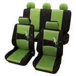 Seat Covers, Stylish Green & Black Car Seat Covers - For Lancia Kappa 1994 - 2001, Petex