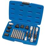 Alternator Pullers, Draper Expert 31921 Alternator Pulley Tool Kit (18 piece), Draper