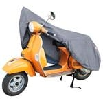 Motorbike and Scooter Covers, Moped and Scooter Cover Grey - 185x90x110cm, Walser