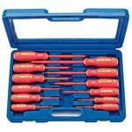 VDE Screwdrivers, Draper 46541 Fully Insulated Screwdriver Set (12 Piece), Draper