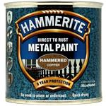 Specialist Paints, Hammerite Direct To Rust Metal Paint - Hammered Copper - 250ml, Hammerite Paint