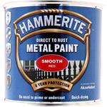 Specialist Paints, Hammerite Direct To Rust Metal Paint - Smooth Red- 250ml, Hammerite Paint