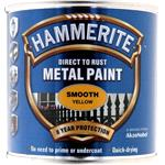 Specialist Paints, Hammerite Direct To Rust Metal Paint - Smooth Yellow - 250ml, Hammerite Paint