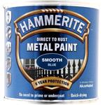 Specialist Paints, Hammerite Direct To Rust Metal Paint - Smooth Blue - 250ml, Hammerite Paint