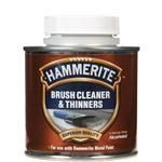 Specialist Paints, Hammerite Brush Cleaner & Thinners - 250ml, Hammerite Paint