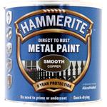 Specialist Paints, Hammerite Direct To Rust Metal Paint - Smooth Copper - 250ml, Hammerite Paint