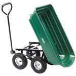 Waste Collection, Composting and Tidying, Draper 58553 Gardeners Cart with Tipping Feature, Draper