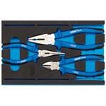 1/4 Drawer EVA Insert, Draper Expert 63262 Heavy Duty Plier Set in 1-4 Drawer EVA Insert Tray (3 Piece), Draper