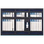 1/4 Drawer EVA Insert, Draper 63515 Screwdriver Insert Bit Set in 1-4 Drawer EVA Insert Tray (40 Piece), Draper