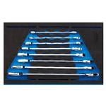 1/4 Drawer EVA Insert, Draper Expert 63524 Open Ended Spanner Set in 1-4 Drawer EVA Insert Tray (8 Piece), Draper