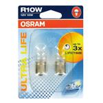 Bulbs - by Bulb Type, Osram ultra Life R10W 12V Bulb  - Twin Pack, Osram