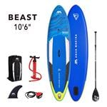 "All SUP Boards, Aqua Marina Beast (2021) 10'6"" SUP Paddle Board, Aqua Marina"