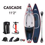"All SUP Boards, Aqua Marina Cascade (2021) 11'2"" SUP Paddle Board Kayak Hybrid, Aqua Marina"