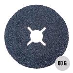 "Sanding, Filing and Finishing, Abracs 4 1-2"" Fibre Disc 115mm x 60 grit AL-OX Pack of 25, ABRACS"