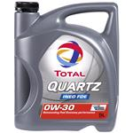 Engine Oils and Lubricants, TOTAL Quartz FDE 0W-30 Engine Oil - 5 Litre , Total