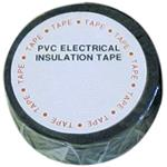 Tapes, Wot-Nots PVC Insulation Tape - Black - 19mm x 4.6m, WOT-NOTS