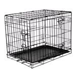 Dog and Pet Travel Accessories, RAC Metal Fold Flat Crate - Small, RAC
