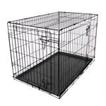 Dog and Pet Travel Accessories, RAC Metal Fold Flat Crate - Large, RAC