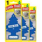 Air Fresheners, Little Trees New Car Air Freshener - 3 Pack, Little Trees