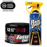 Soft99, Soft99 Set - Fusso 12 Month Coat Dark and Rain Drop Gloss Booster, Soft99