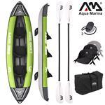 "All Kayaks, Aqua Marina (2021) Laxo 12'6"" All Around Kayak (3-Person) - 2 Paddle Included, Aqua Marina"