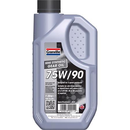Granville EP 75W 90 Gear Oil   1 Litre