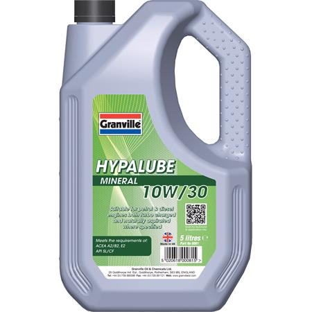 *CLEARANCE* Hypalube Mineral Oil 10W30   5 litre