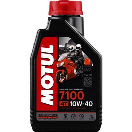 MOTUL Motorbike Engine Oil 7100 10W 40 4T   1 Litre
