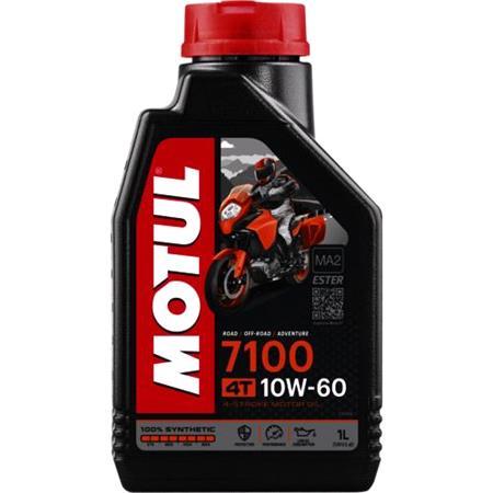 MOTUL Motorbike Engine Oil 7100 10W 60 4T   1 Litre