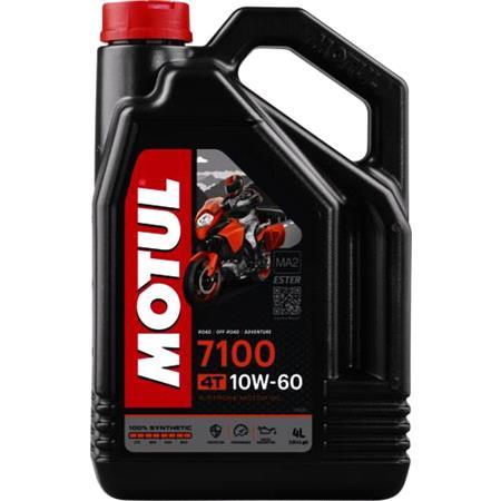 MOTUL Motorbike Engine Oil 7100 10W 60 4T   4 Litre