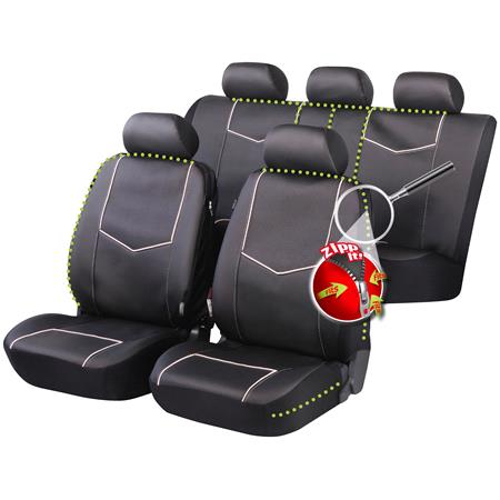 York Luxury Car Seat Covers for Peugeot 207 Saloon 2007 Onwards