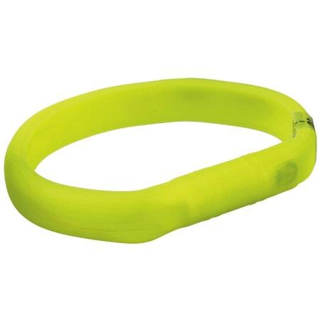Rechargeable Full Light Band In Green   Medium Dogs (50 70cm)