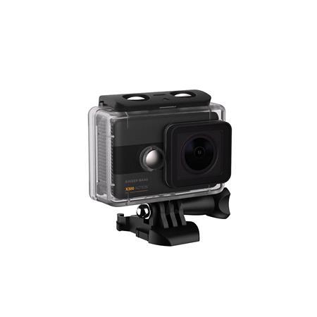 Kaiser Baas X300 2.5K Action Camera uPSCALED 4K 8MP 6G LENS7