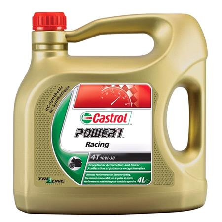 Castrol Power 1 Racing 4T   4 Stroke   10W 30   Fully Synthetic   4 Litre
