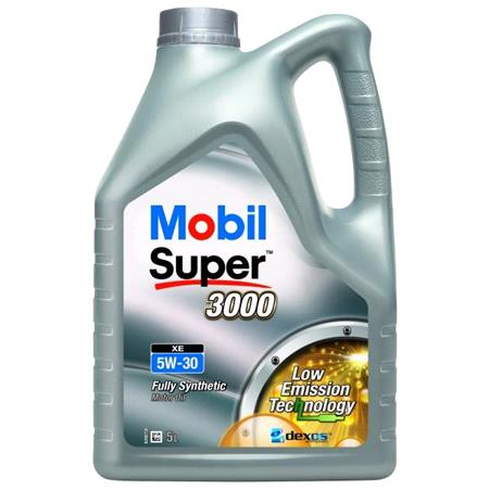 Mobil Super 3000 XE 5W30 Fully Synthetic Engine Oil. 5 Litre