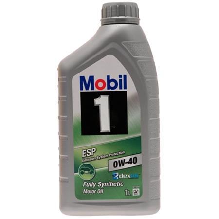 Mobil 1 ESP Formula 0W40 Fully Synthetic Dexos 2 Engine Oil.1 Litre