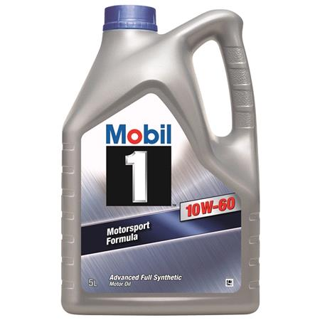 Mobil 1 10W60 Advanced Fully Synthetic Engine Oil. 5 Litre