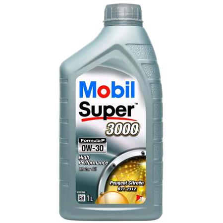 Mobil Super 3000 Formula P 0W 30 Engine Oil   1 Litre