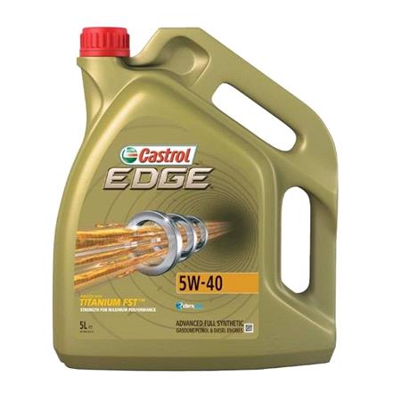 Castrol Edge 5W 40 Engine Oil   5 Litre